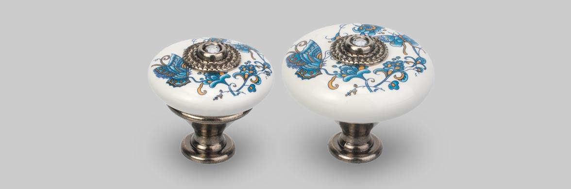 Porcelænsknop Taza